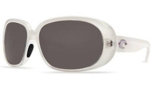 Costa Del Mar Sunglasses - Hammock- Plastic / Frame: Crystal Sand Lens: Polarized Gray 580P - Hammock Costa Del Mar