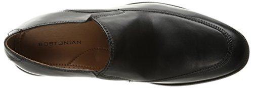 Bostonian Mens Kinnon Apron Slip-On Loafer, Black, 10.5 W US