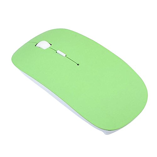 Ultra Slim Bluetooth V3.0 Wireless Optical Mouse (White) - 4