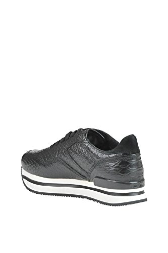 Hogan Kvinder Mcglcak03040e Sort Læder Sneakers WX6biBy