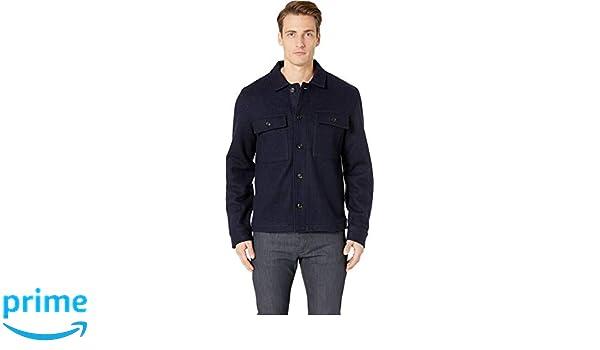 df398560138b Todd Snyder Men's Boucle Shirt Jacket Navy Medium at Amazon Men's Clothing  store: