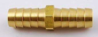 MettleAir 129-8 1//2 ID Hose Barb Mender//Splicer//Joiner//Union Fitting Brass Tubing Hose Adapter//Coupler Pack of 10