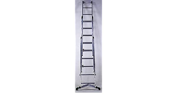 Escalera Corredera aluminio para cuerda con ruedas de Facade internos.: Amazon.es: Bricolaje y herramientas