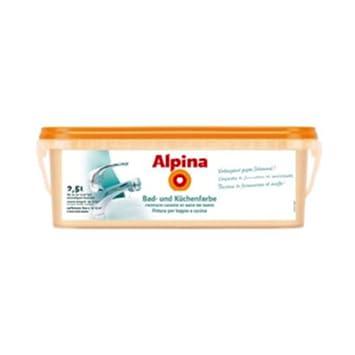 Alpina Bad- und Küchenfarbe Weiss 2,5 L: Amazon.de: Baumarkt