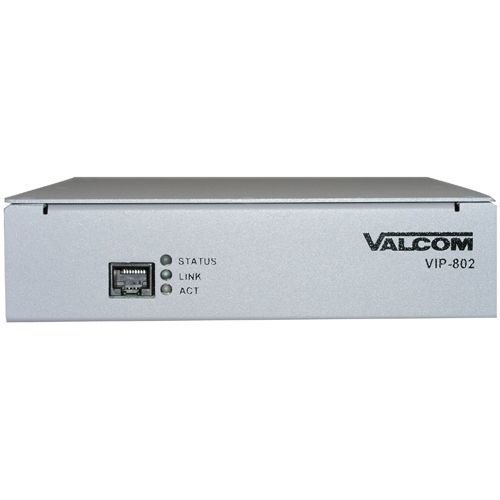 Valcom VIP-802 Dual Enhanced Network Audio Port [並行輸入品] B01LZI460P