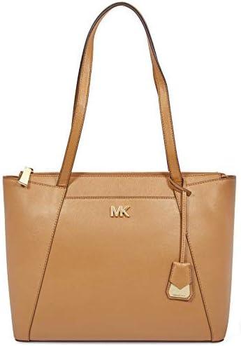 Michael Michael Kors Maddie East/West Top Zip Leather Tote