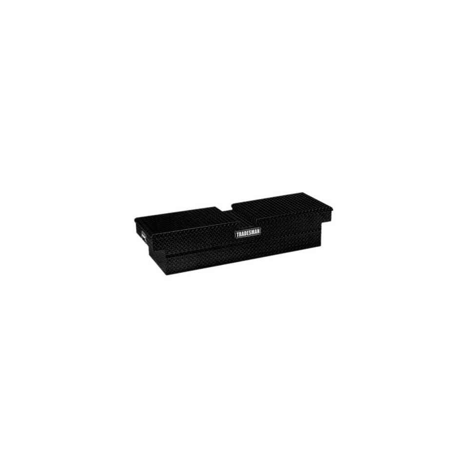 Tradesman TALG581BK 70 Gull Wing Black Aluminum Cross Bed Tool Box