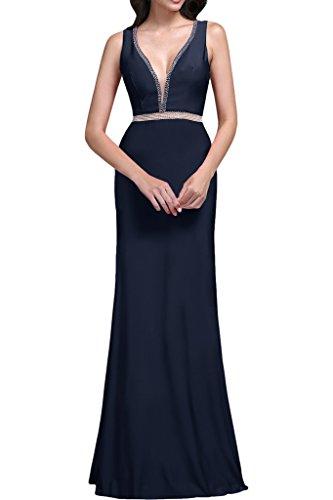 TOSKANA BRAUT - Vestido - para mujer Bleu foncé
