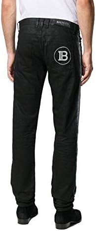 Balmain Luxury Fashion Homme SH05291Z0170PA Noir Élasthanne Jeans   Printemps-été 20