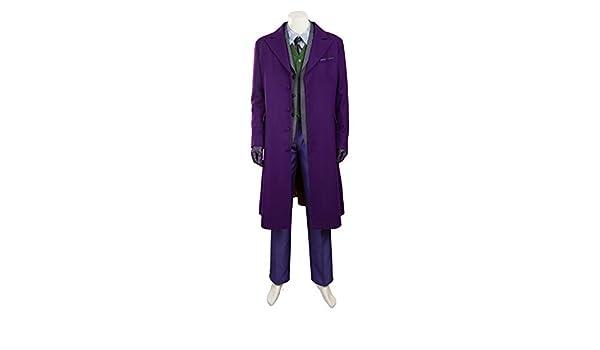 QWEASZER Batman Dark Knight Joker Disfraz de Cosplay Hombre ...