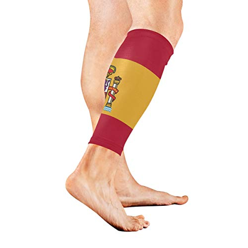 g Long Tail Compression Socks Support Non Slip Calf Sleeves Pads for Running, Shin Splint, Calf Pain Relief, Runners, Medical, Air Travel, Nursing, Cycling 1Pair ()