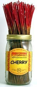 (Cherry - 100 Wildberry Incense Sticks by Wildberry 100 Stick Pack)