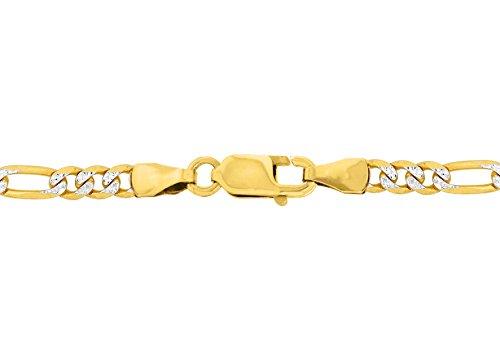 Carissima Gold - Chaîne - 375/1000 - Or bi colore - Femme