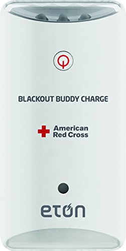 American Red Cross Blackout Buddy Charge Emergency LED Flashlight, Blackout Alert, Nightlight & Phone Charger