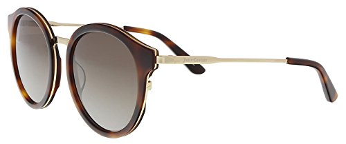 (Juicy Couture Women's Ju596/s Round Sunglasses, HVNA GOLD, 52 mm)