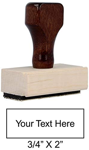 (Traditional Custom Rubber Stamp (Small))