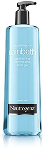 Neutrogena Rainbath Replenishing Shower & Bath Gel, Ocean Mist 8.5 oz (Pack of 2)