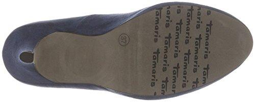 Blu Scarpe 22407 Donna Tacco Tamaris Con 805 navy Sagwqp