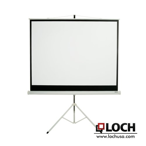 Lite Portable Front Projection Screen (Matte White 100