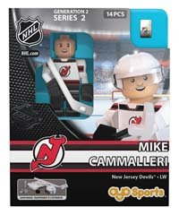 NHL New Jersey Devils Mike Cammalleri GEN 2 Limited Edition Minifigure, Small, Black
