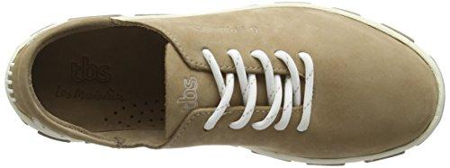 TBSJazaru - Zapatillas con cordones Mujer Beige - Beige (Gazelle)