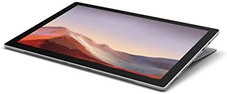 """Microsoft Surface Pro 7 – 12.3"""" Touch-Screen - tenth Gen Intel Core i5 - 8GB Memory - 256GB SSD (Latest Model) – Platinum with Black Type Cover"""