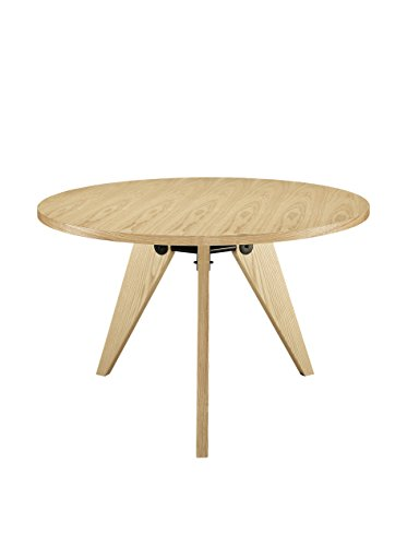 Laurel Dining Table - Natural dining or kitchen table Medium density fiberboard Ash veneer on top - kitchen-dining-room-furniture, kitchen-dining-room, kitchen-dining-room-tables - 310VN0OXT L -
