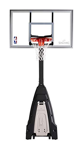 Spalding NBA ''The Beast'' Portable Basketball System - 60'' Glass Backboard by Spalding (Image #2)