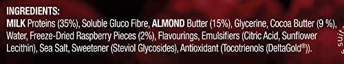 Reflex Nutrition R-Bar, Proteinriegel, geeignet für Vegetarier und Zöliakiekranke – 12x60g Multipack (Cookies and Cream)