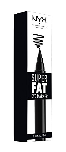 NYX Professional Makeup Super Fat Eye Marker,SFEM01 Carbon B