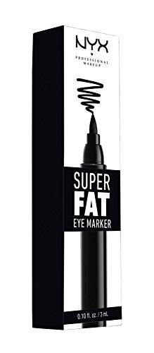 NYX Professional Makeup Super Fat Eye Marker,SFEM01 Carbon - Dramatic Eye Cat