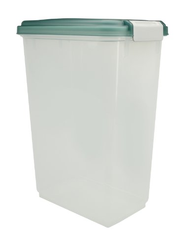 Best Price! IRIS Airtight Pet Food Storage Container, 23 Quart, Green
