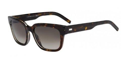 DIOR HOMME Sunglasses 187/S 098B Havana Crystal - Sunglasses Swarowski