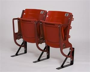 Old Busch Stadium - Old Busch Stadium Memorabilia Stadium Seats - Set of 2 (Cardinal color)