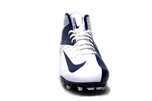 Tacchetti Da Calcio Nike Mens Vapor Pro 3/4 Td Bianco / Blu Scuro