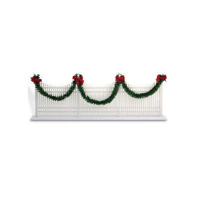 Byers' Choice Decorated Picket Fence #623