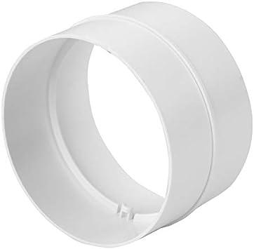Europlast 125mm tubo conectores ventilación ABS 125mm ronda tubo de escape del tubo, PVC: Amazon.es: Bricolaje y herramientas