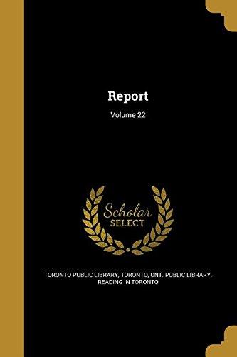 Download Report; Volume 22 ebook
