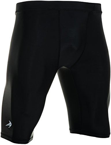 Compression Shorts - Men's Boxer Brief - Best for Running, Cycling, Basketball L ()