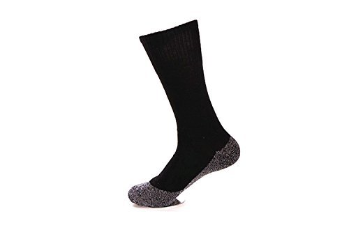 35 Degrees Ultimate Comfort Socks 3 Pairs in Black - Aluminized Fibers Supersoft Socks