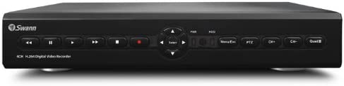 Swann SWDVK-425504 S 4-Channel Digital Video Recorder with Smartphone Viewing and 4 x 600TVL Cameras Discontinued by Manufacturer