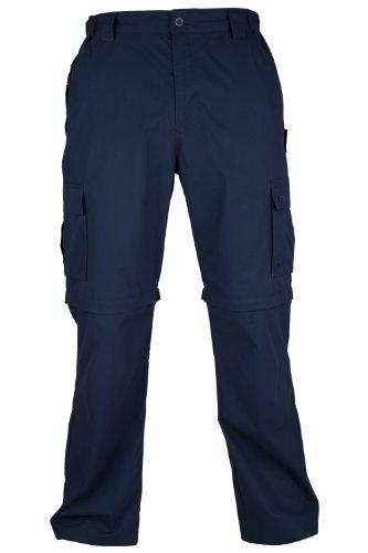 Mountain Warehouse Trek men's Convertible Cargo Pants Navy 34