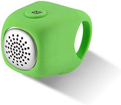 Z-overlord - Timbre eléctrico para bicicleta, 110 db, timbre para bicicleta eléctrico, campana para bicicleta, timbre, resistente al agua, accesorio para bicicleta de montaña, verde, 3.5 * 3 cm: Amazon.es: Deportes y aire libre
