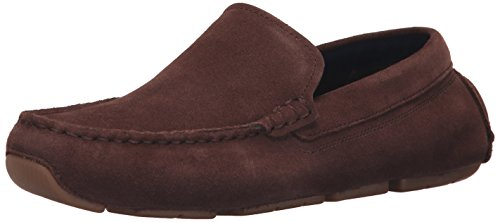 Cole Haan Men's Kelson Venetian Slip-On Loafer, Chestnut Suede, 7.5 M US