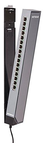 NETGEAR 16-Port Gigabit Smart Managed Plus Click Switch, ProSAFE Lifetime Protection (GSS116E) from NETGEAR