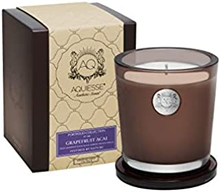 product image for Aquiesse Grapefruit ACAI~Large Soy Candle/Brown Gift Box