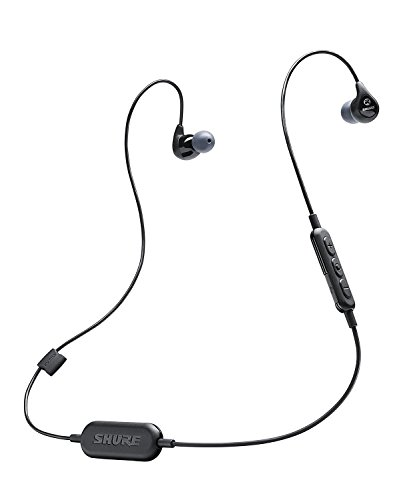 (Shure SE112-K-BT1 Wireless Sound Isolating Earphones with Bluetooth Enabled Communication Cable)