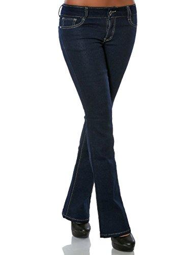 Cut Daleus Donna Basic Jeans Blau Boot qHH1gTWwS