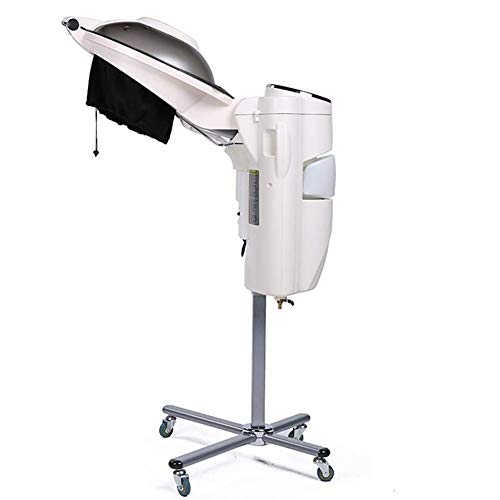 AASTEAMER Floor lon Hair Steamer and Hair Dryer Heating Cap Machine with Stand Rolling Wheels Hood Hair Care Color Processor for Salon Beauty Barber from AASTEAMER