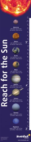 (Levenhuk Reach for The Sun Educational Growth Chart - a Fun Way to Learn All The Planets of The Solar System)